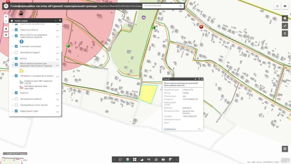 Створення інтерактивної карти