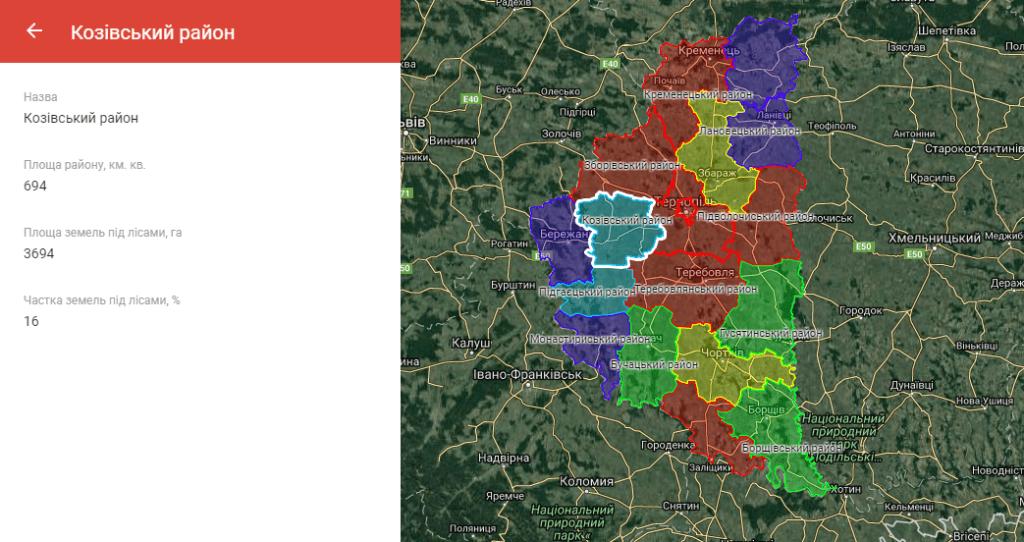 Інтерактивна карта ресурсозабезпеченості
