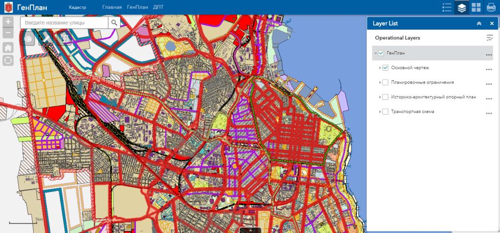 Геопортал містобудівного кадастру
