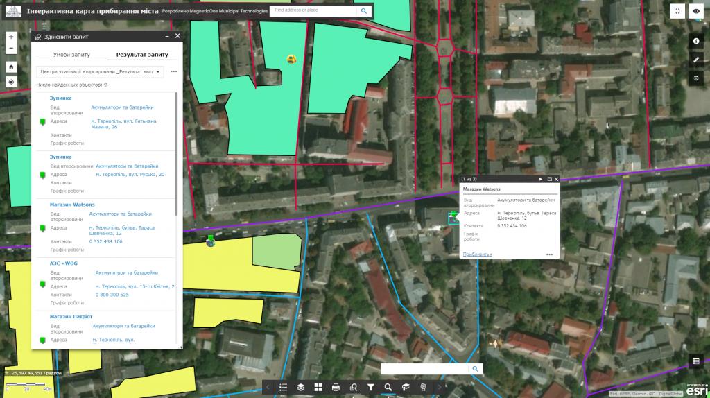 Геоінформаційна система аудиту міста